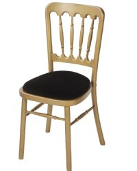 Hire gold banqueting chairs